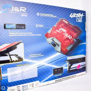Base Refrigerante para Portátil BRJR 001 con Pantalla LED