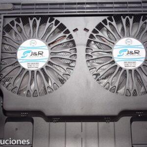Base Refrigerante para Portátil BRJR-004 con 2 Cooler