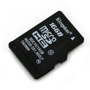 Memoria Micro SD Kingston de 16 GB