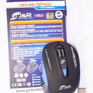 Mouse Óptico Inalámbrico J&r Mijr-014 1600 Dpi 10 Mt Alcance