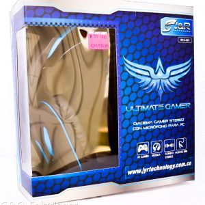 Diadema Gamer Ultimate Gamer Stereo PC J&R; R 023 MV Micrófono