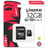 Memoria Micro Kingston de 32 GB