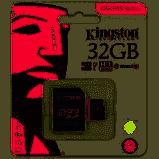 Memoria Micro Kingston de 32 GB