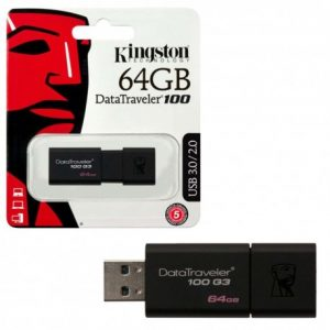 Memoria USB Kingston de 64GB