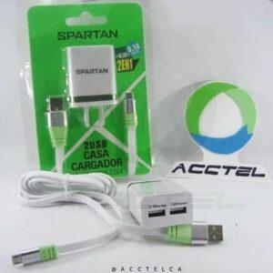 Cargador 3.1A Spartan C1O7 2 puertos USB