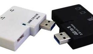 Combo HUb Multilector USB Unitec