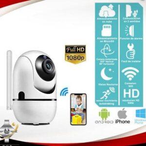 Camara IP WIFI auto tracking 2MP/SD