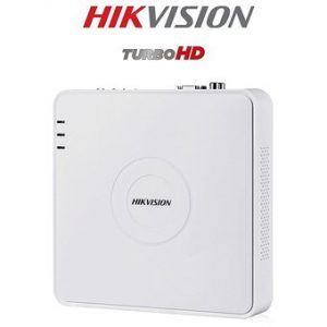 Mini DVR 4 Canales Hikvision 1080p Turbo HD DS 7104HQHI K1