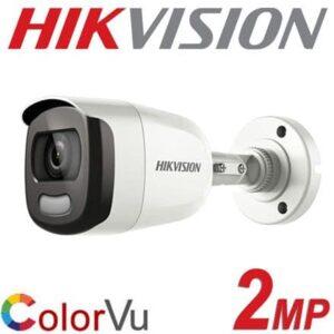 Cámara bala metálica Hikvision【COLOR 24/7】2Mpx 3.6mm