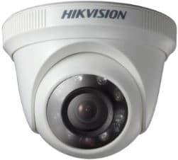 Cámara plástica domo Hikvision 1Mpx 2.8mm