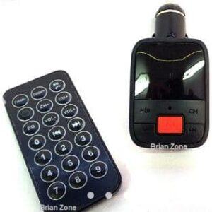Transmisor Display para carro, Fm, USB, Aux, Microsd, control