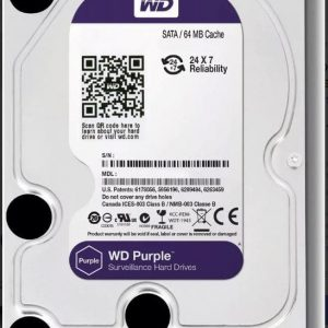 Disco Duro Western Digital 2 Tb Purple DVR
