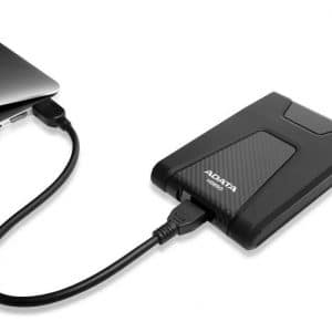 Disco Duro Externo Portatil Adata Durable Hd650 2tb 3.1 Negro
