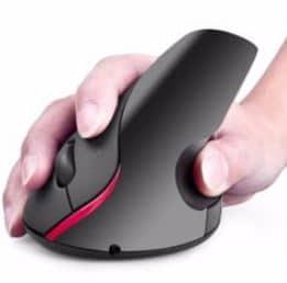 Mouse Inalámbrico Vertical U-M-V4 Unitec