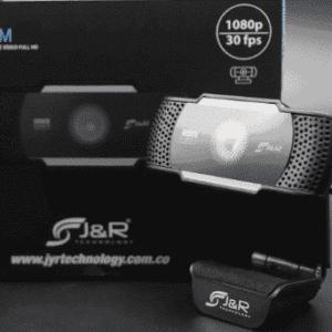 Cámara web HD Cam021 J&R 1080P 30 fps