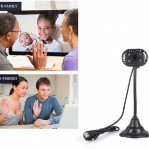 Càmara web 480P Flexible Full HD tipo Logitech