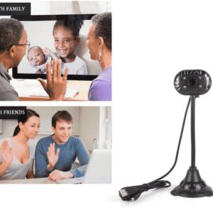 Càmara web 480P Flexible Full HD tipo Logitech