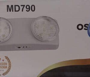 Lámpara de Emergencia Led MD790 OSBLACK