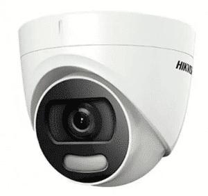 Cámara Tipo Domo Hikvision 2Mpx 2.8mm ColorVu